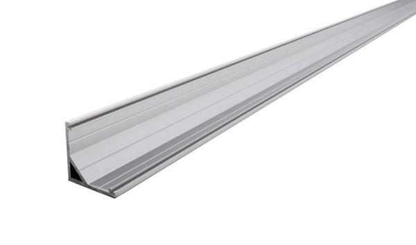 Reprofil Profil, Eck-Profil AV-03-12, Aluminium, Silber-matt eloxiert, 3000mm
