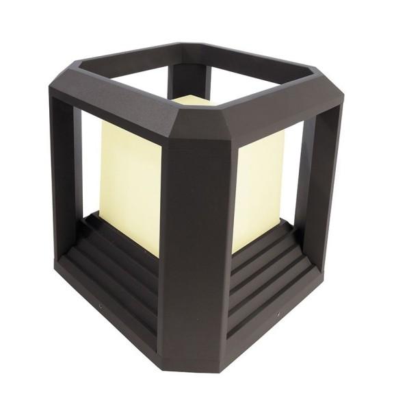 Deko-Light Stehleuchte, Bootis II, Aluminium Druckguss, dunkelgrau, Warmweiß, 360°, 20W, 230V