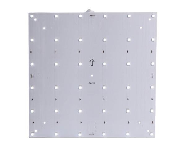 Deko-Light Modular System, Modular Panel II 6x6, Aluminium, Weiß, Kaltweiß, 120°, 8W, 24V, 265x265mm