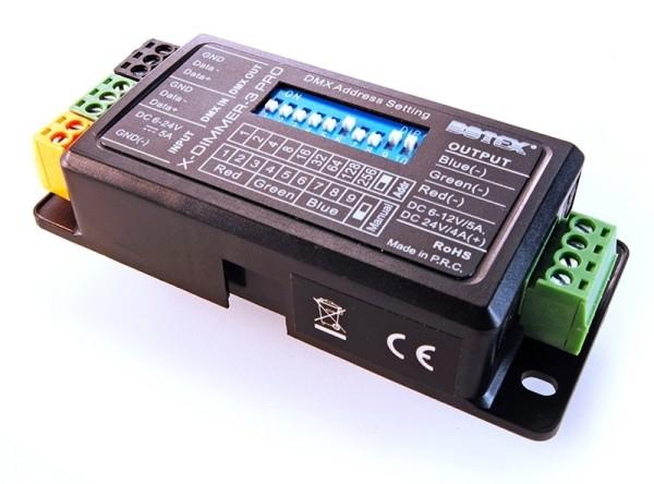Botex Controller, X-Dimmer 3 Pro, spannungskonstant, 12-24V DC, 96,00 W