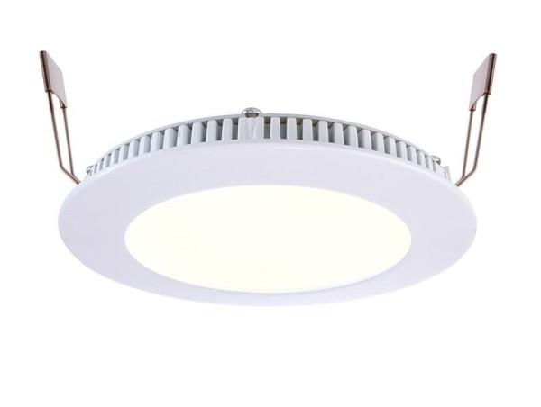 Deko-Light Deckeneinbauleuchte, LED Panel 8, Aluminium Druckguss, Weiß, Warmweiß + Kaltweiß, 115°