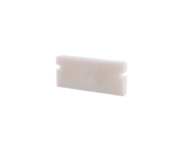 Reprofil Profil Zubehör, Endkappe P-AU-01-10 Set 2 Stk, Kunststoff, Weiß, 16x6mm