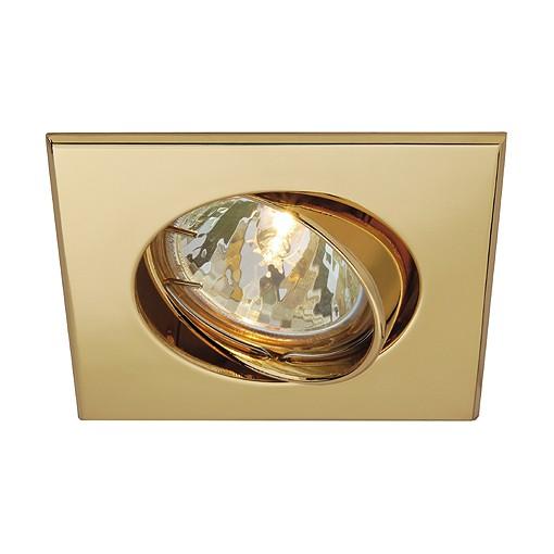 SQUARE MR16 Downlight, gold