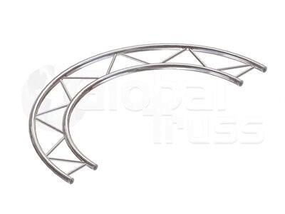 Kreisstück F32H für 2 Meter/Kreis 1 Stück 180 °