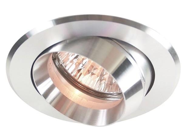 Deko-Light Deckeneinbauring, Aluminium, silberfarben poliert, 50W, 12V