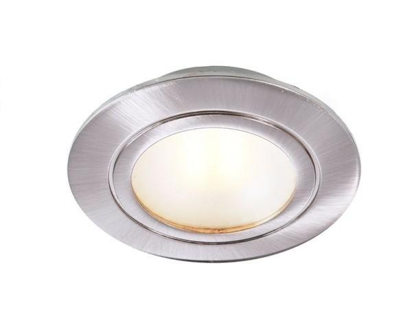 Deko-Light Möbeleinbauleuchte, Aluminium, silberfarben gebürstet, Warmweiß, 90°, 3W, 9V, 350mA
