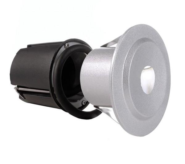 KapegoLED Wandeinbauleuchte, Quid I CW, inklusive Leuchtmittel, symmetrisch, Kaltweiß, 1,80 W, IP 65