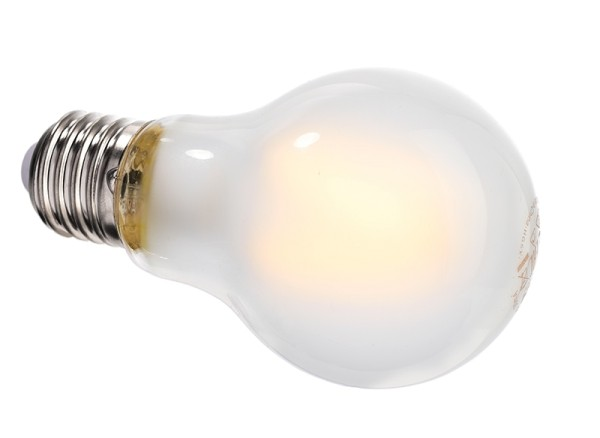 Deko-Light Leuchtmittel, Filament E27 A60 2700K milchig, Glas, Warmweiß, 300°, 4W, 230V, 11mA, 105mm