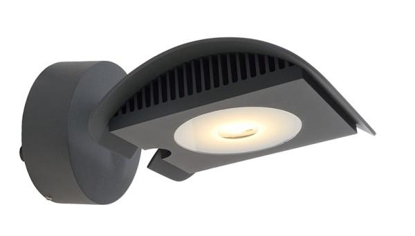 Deko-Light Displayleuchte, Atis III, Aluminium Druckguss, dunkelgrau, Warmweiß, 100°, 15W, 230V