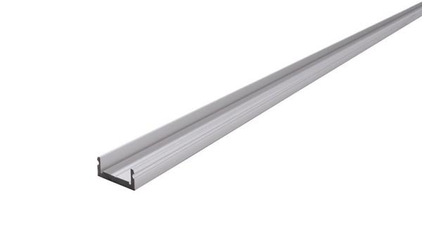 Reprofil Profil, Trägerprofil, Profil-Träger T-02-20, Aluminium, Silber-matt, 1000mm