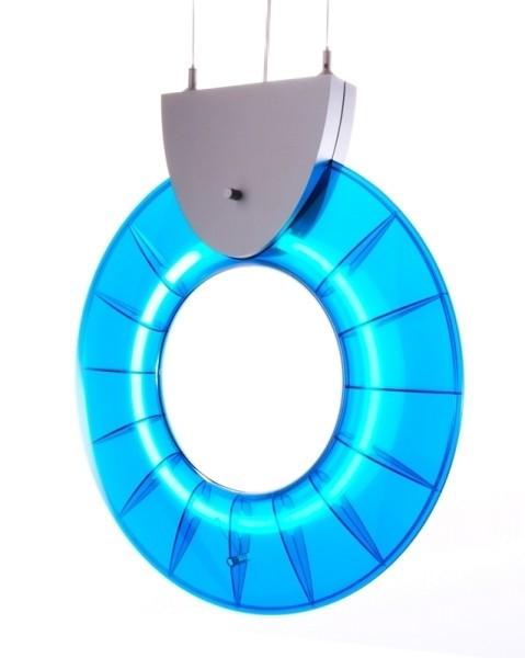 Hängeleuchte Collar Blau inkl. Vorsch., 55 W