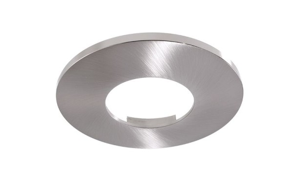 Deko-Light Zubehör, Abdeckung Silber satiniert rund für COB 68 IP65 + Mizar II, Aluminium