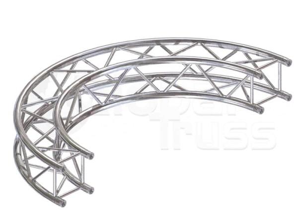 Kreisstück F24 für 2 Meter/Kreis 1 Stück 180 °
