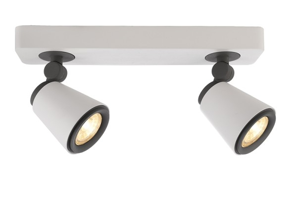 Deko-Light Deckenaufbauleuchte, Leporis Linear II, exklusive Leuchtmittel, GU10