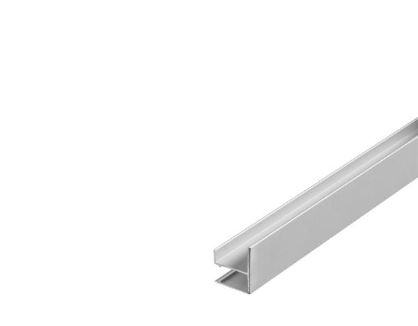 GLENOS, Wandprofil, LED, aluminium eloxiert, 2 m