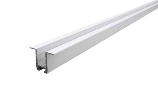 Reprofil Profil, Trockenbau-Profil, Wand-Decke ET-03-10, Aluminium, Weiß-matt, 2500mm