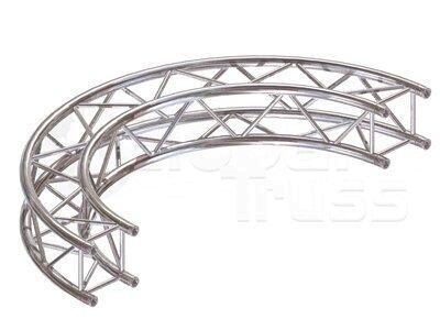 Kreisstück F34 für 4 Meter/Kreis 1 Stück 90 °