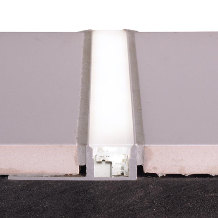 Reprofil Profil Fliesen-Profil EL-01-08  Silber-matt eloxiert