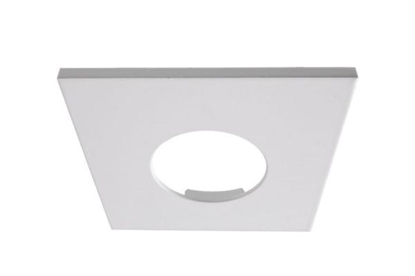 Deko-Light Zubehör, Abdeckung Weiß matt eckig für COB 68 IP65 + Mizar II, Aluminium, Weiß-matt