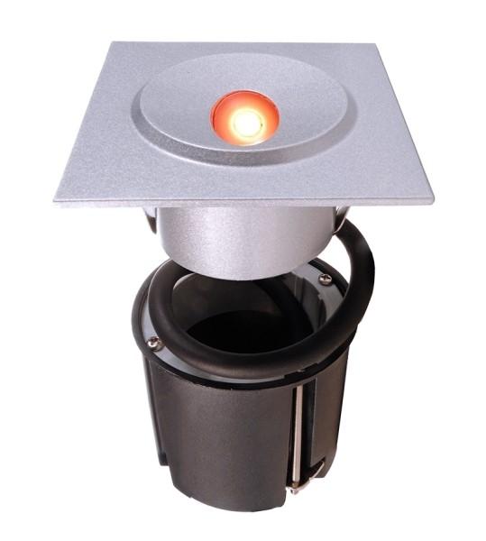 Wandeinbauleuchte Quid III LED 1 x 3 Watt RGB 3in1 quadra