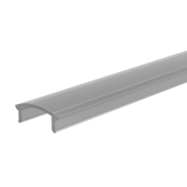 Reprofil, Abdeckung F-01-10, Kunststoff, matt 75% Transmission, Länge: 2000 mm