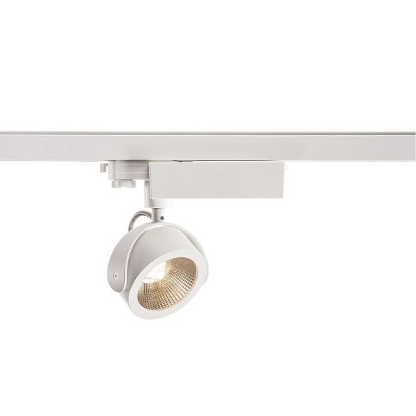 KALU TRACK, Strahler für 3Phasen Hochvolt-Stromschiene, LED, 3000K, weiß/schwarz, 24°