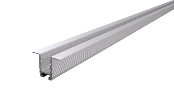 Reprofil Profil, Trockenbau-Profil, Wand-Decke ET-03-10, Aluminium, Silber-matt eloxiert, 2500mm