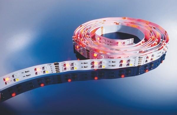Flexibler LED Stripe IP 20, 12V, 5 m, RGB-CW-144