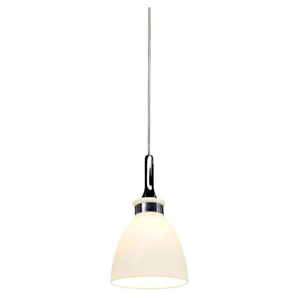 DEWI Pendelleuchte für LINUX LIGHT, chrom/weiss, GY6,35, max. 50W