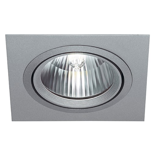 ROW G12 Downlight, silbergrau