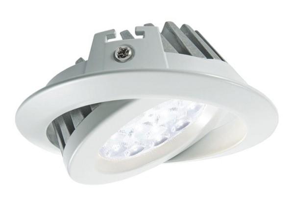 KapegoLED Deckeneinbauleuchte, TD36-15, inklusive Leuchtmittel, Weiß, Kaltweiß, Abstrahlwinkel: 70°