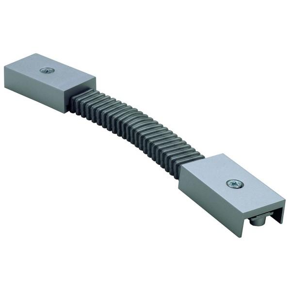 Flexverbinder für C-TRACK, silbergrau, max. 20A