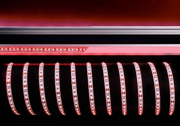 Deko-Light Flexibler LED Stripe, 3528-120-12V-rot-5m, Kupfer, Weiß, Rot, 120°, 35W, 12V, 5000mm