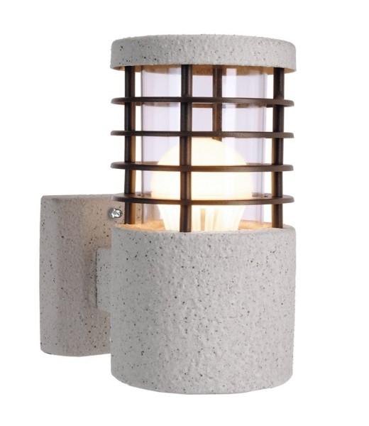 Deko-Light Wandaufbauleuchte, Merak, Edelstahl, weiß, 11W, 230V, 180x102mm