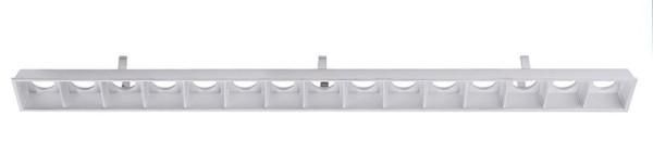 Deko-Light Zubehör, Ceti 15 Reflektor Silber, Kunststoff, Silber, 46°, 363mm