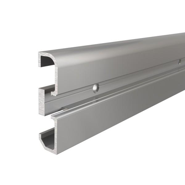 Reprofil, Sockel-Profil AM-02-10 für LED Stripes bis 11,3 mm, Silber-matt, eloxiert, 3000 mm