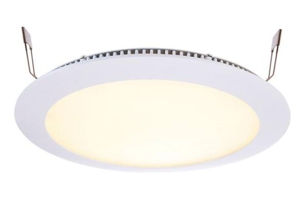 Deko-Light Deckeneinbauleuchte, LED Panel 16, Aluminium Druckguss, weiß, Warmweiß, 115°, 13W, 17-18V
