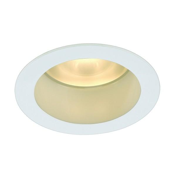 LED HORN Deckeneinbauleuchte, rund, weiss, 3x3W, warmweiss