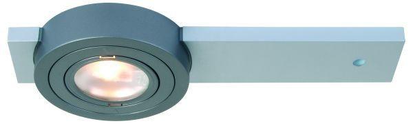 Möbeleinbauleuchte Puck ARF matt chrom 20 W, mit 1800 mm AMP Kabel, Farbe chrom matt, MM, 12V, max 2