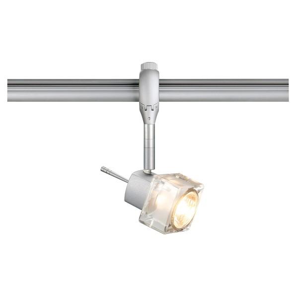 BLOX, Spot für Hochvolt-Stromschiene EASYTEC II, QPAR51, silbergrau, max. 50W