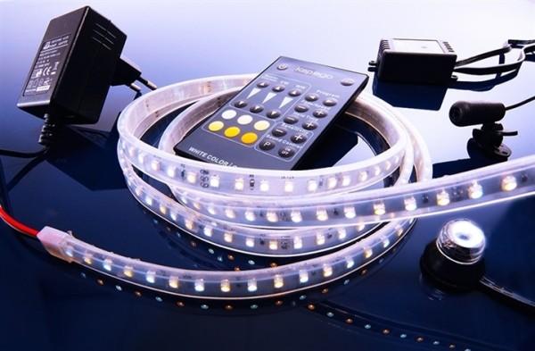 LED Mixit Set, 3528, SMD, Warmweiß + Kaltweiß, 220-240V AC/50-60Hz, 24,00 W