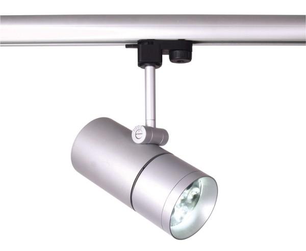 3-phasen Spot, Spot Fanale 6x3W Power LED, satin