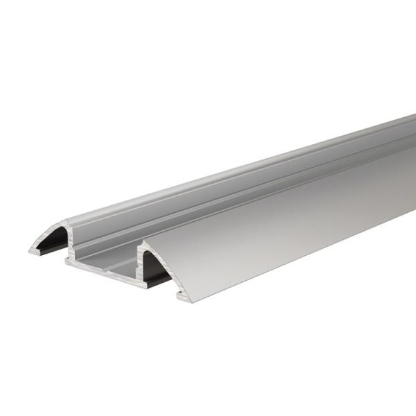 Reprofil, Unterbau-Profil flach AM-01-10 für LED Stripes bis 11,3 mm, Silber-matt, eloxiert