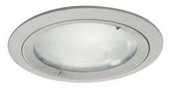 Kapego Deckeneinbauleuchte, exklusive Leuchtmittel, Silber-matt, spannungskonstant, Anzahl Sockel: 2