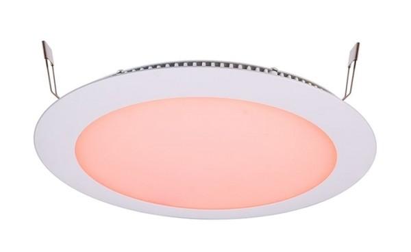 KapegoLED Deckeneinbauleuchte, LED Panel 16, inklusive Leuchtmittel, Weiß, RGB, Abstrahlwinkel: 115°