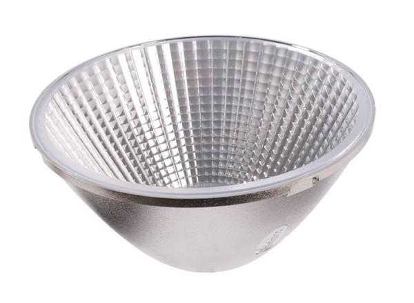Deko-Light Zubehör, 30° Reflektor Luna 30/40, Kunststoff, Silber Chrom, 30°