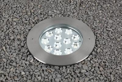 Bodeneinbauleuchte, HP III, symmetrisch12,00 W