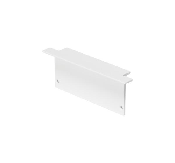 ENDKAPPEN, für GLENOS Profi-Einbau-Profil 8832, weiß, 2 Stück