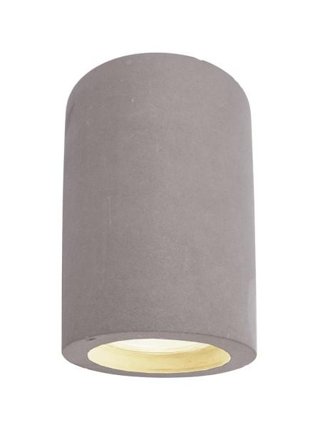Deko-Light Deckenaufbauleuchte, Naos II, Beton, grau, 25W, 230V