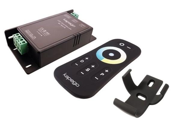 Deko-Light Controller, RF White Remote, Kunststoff, Schwarz, 12-24V, 115x57mm